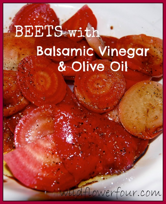 beets vinegar oil